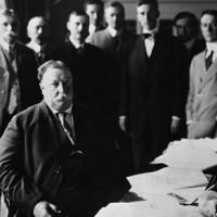 Taft signing New Mexico Statehood