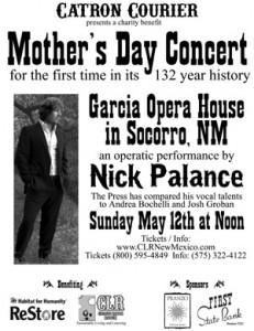 Nick Palance Opera